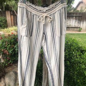 Roxy linen beach pants